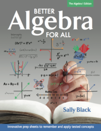 Better Algebra for All - Book