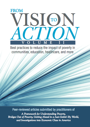 From Vision to Action Volume II: Best practices to reduce the impact of poverty in communities, education, healthcare, and more - Book