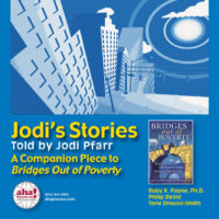 Jodi's Stories - A Companion Piece to Bridges Out of Poverty - USB